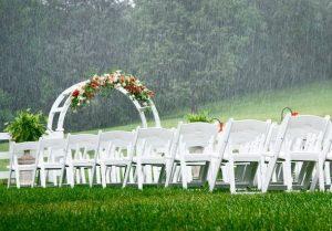 raining on a wedding - should you buy wedding insurance?