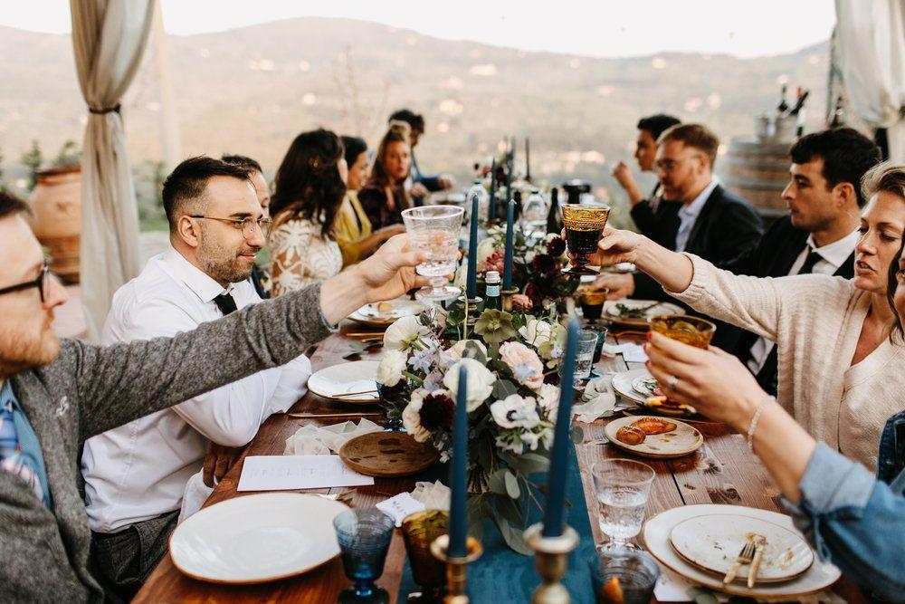 Italian Airbnb Wedding
