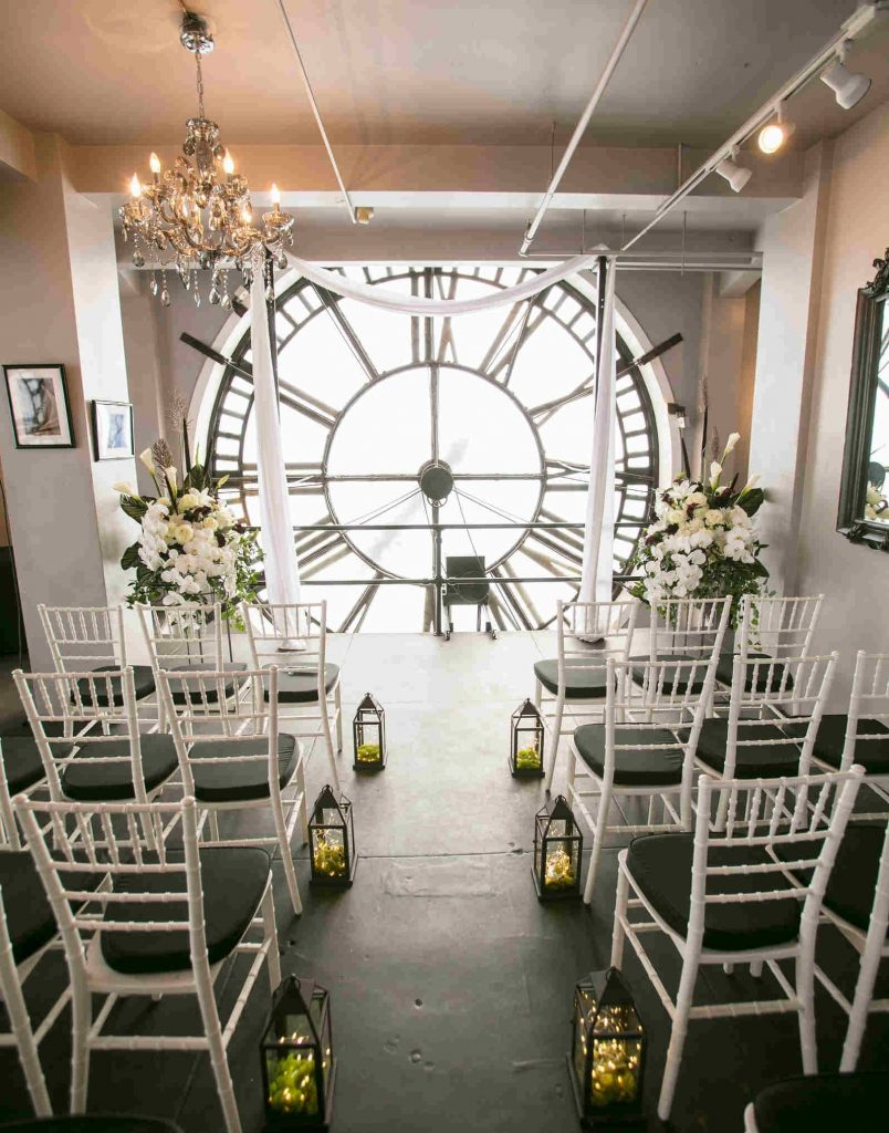 clock tower Denver micro wedding packages