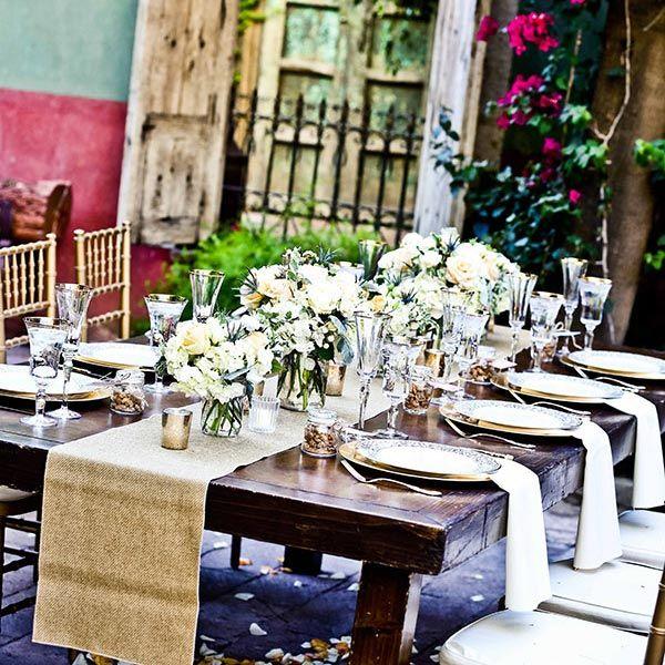 Boojum Tree micro wedding venue in Arizona Table Setting