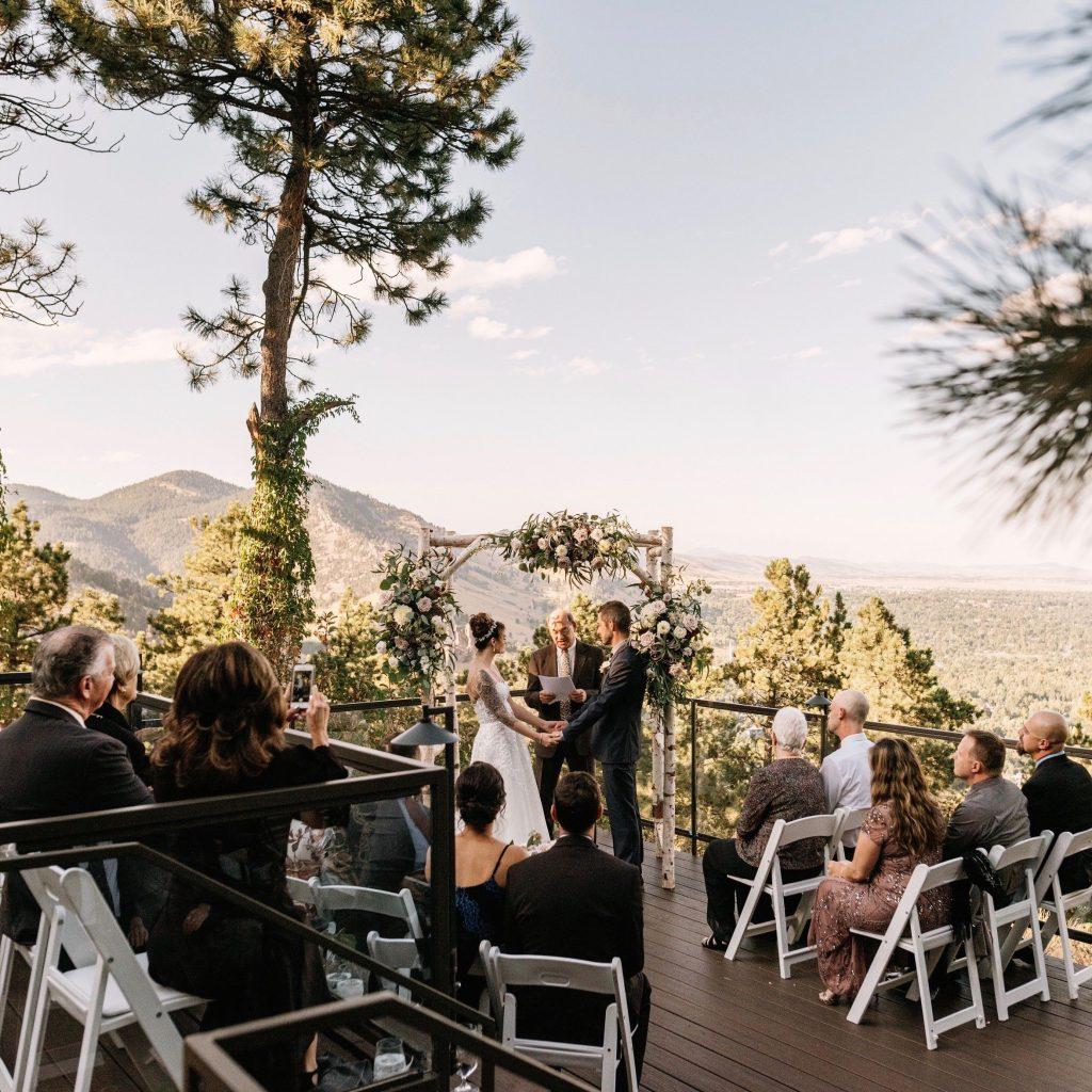 flagstaff house wedding venue in boulder