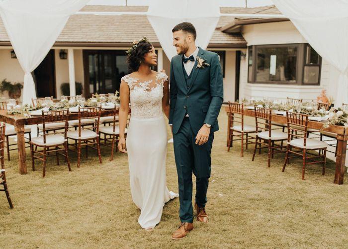San Diego airbnb mansion wedding