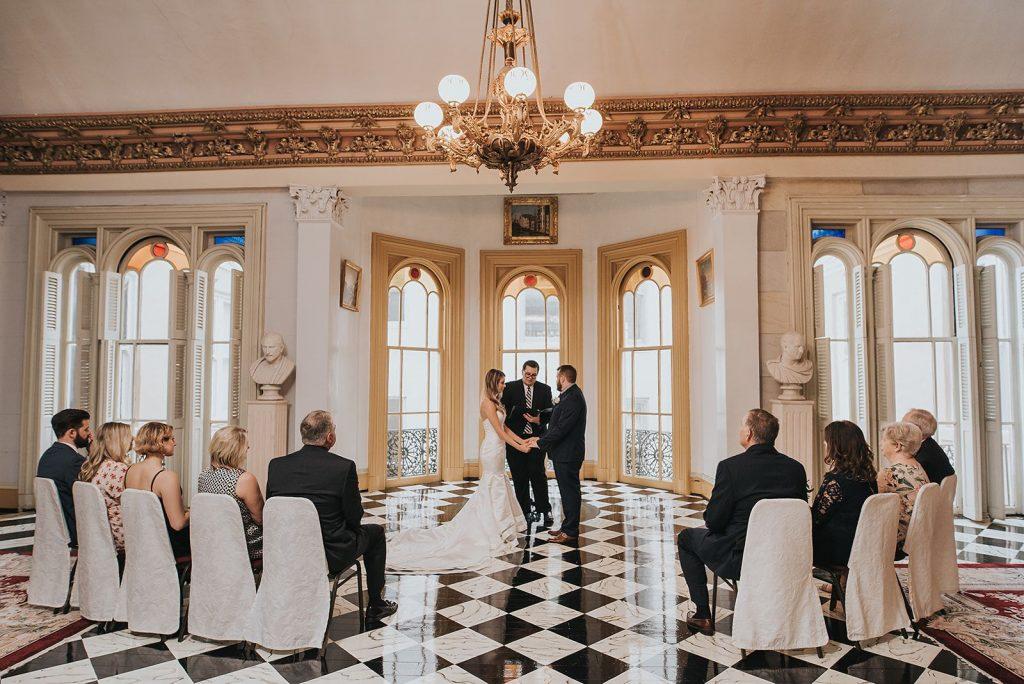 Belmont Mansion Nashville Tennessee micro wedding venue