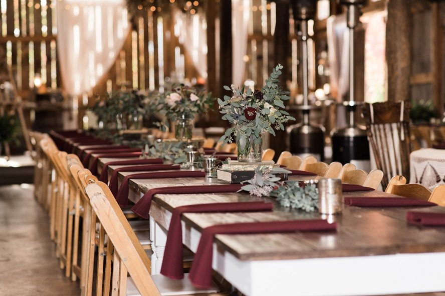 The Barn at High Point Farms Tennessee micro wedding venue