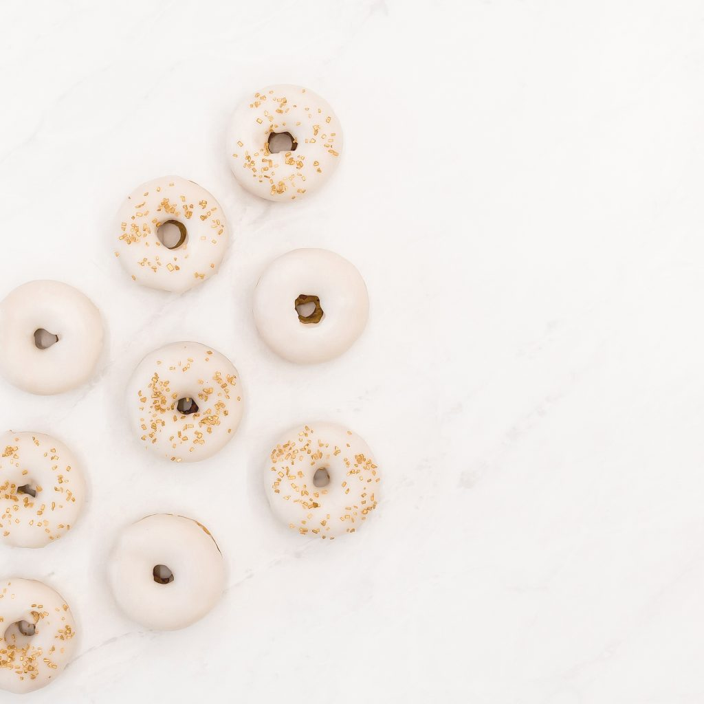 personalized micro wedding donut options