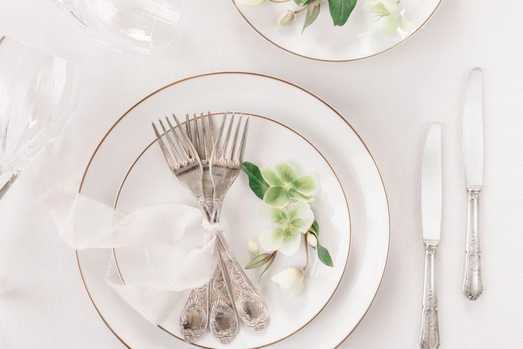 fancy food for a micro wedding