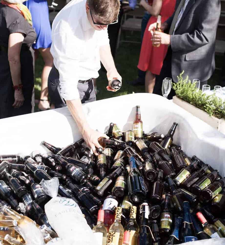 cheaper alcohol options for your micro wedding