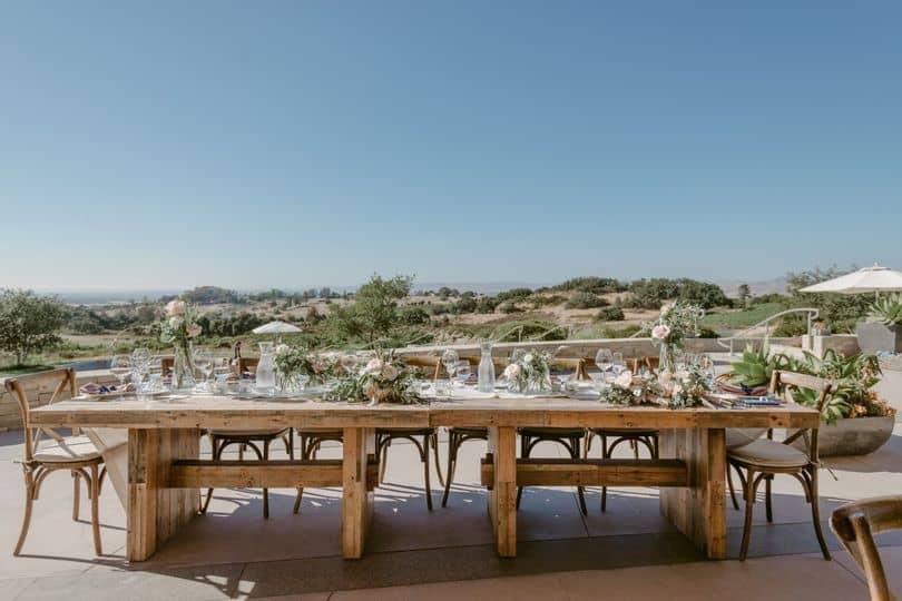 Presqu'ile micro wedding venue in central california